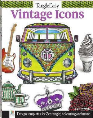Tangle Easy Colouring and Activity Vintage Icons