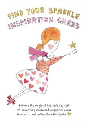 Find Your Sparkle Inspiration Cards: Embrace the Magic of Life with These 24 Beautifully Illustrated Cards