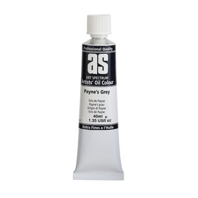 A.S. OIL 40ML S1 PAYNES GREY