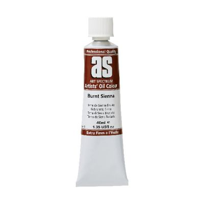 A.S. OIL 40ML S1 BURNT SIENNA