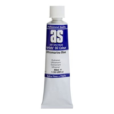 A.S. OIL 40ML S1 ULTRAMARINE BLUE