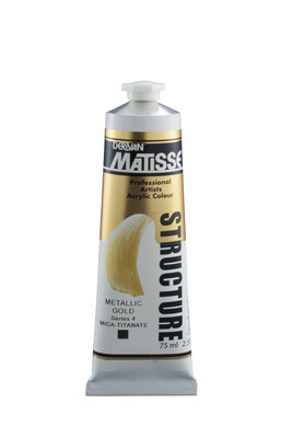 STRUCTURE 75ML METALLIC GOLD 1M7MGO