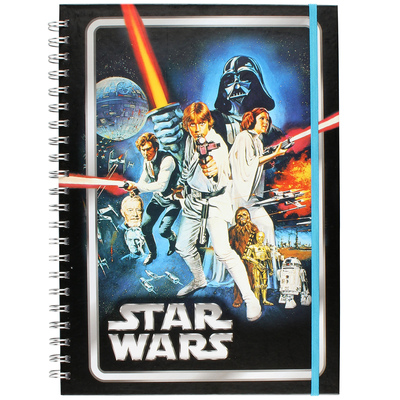 Star Wars Classic A New Hope A4 Notebook