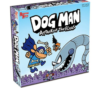 Dog Man: Attack of the Fleas Board Game