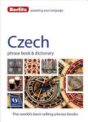 Czech - Berlitz Phrase Book and Dictionary