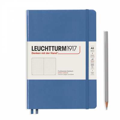 Leuchtturm Notebook A5 Denim Dotted