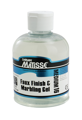 MM16 Faux Finish & Marbling Gel 250ML