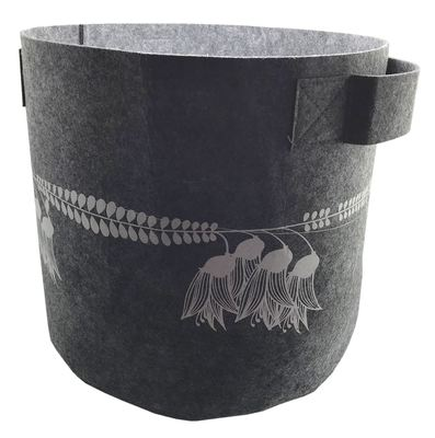 Ecofelt - 7 Gallon Felt Bag Kowhai Grey
