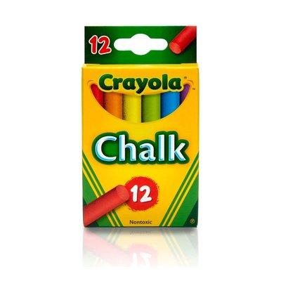 Chalk Box 12 Colours non toxic Crayola - 64429 - GNS