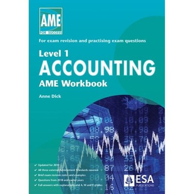 Level 1 Accounting AME Workbook