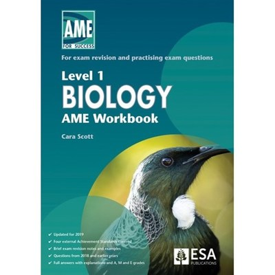 LEVEL 1 BIOLOGY AME WORKBOOK