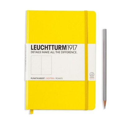 Leuchtturm Notebook A5 Lemon Dotted