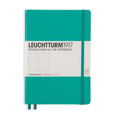 Emerald Green - Leuchtturm1917 A5 Dotted