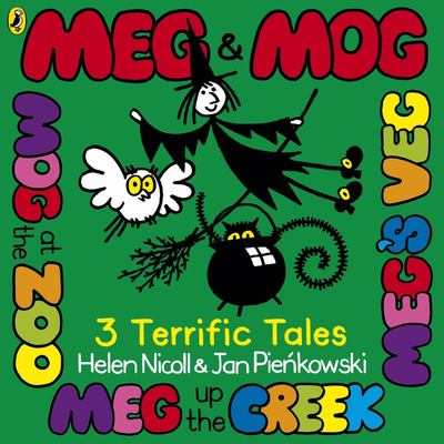 Meg & Mog: 3 More Terrific Tales (PB)