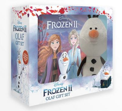 Frozen #2 - Olaf Book and Plush