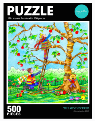 The Giving Tree 500 Piece Puzzle