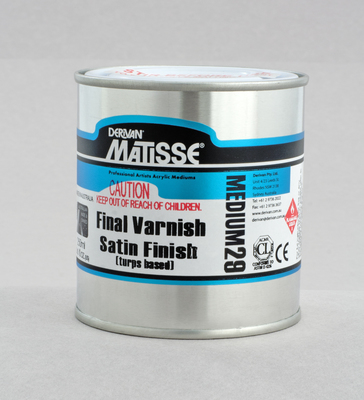MM29 Final Varnish Satin Finish (Turps Based) 250ML