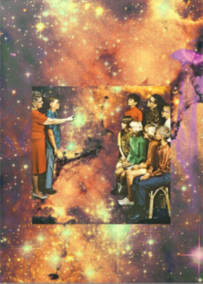 Celestial Party Greeting Card