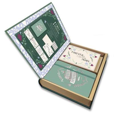 Emily Dickinson Stationery Set  (With Keepsake Book Box)