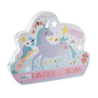 Homepage fantasy 80 piece butterfly shaped jigsaw puzzle with shaped box floss rock