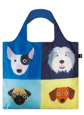 Dogs (Stephen Cheetham) LOQI Reusable Shopping Bag