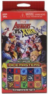 AVX DICE BUILDING STARTER SET GAME AVENGERS VS X-MEN