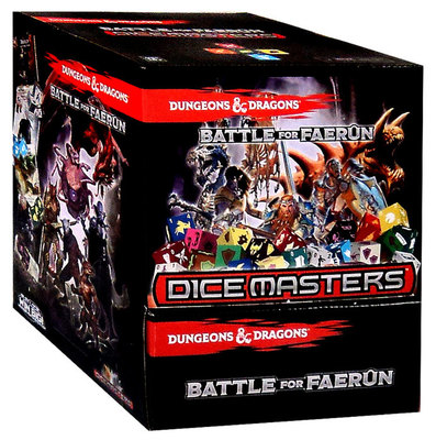 Booster Dice Masters Dungeon and Dragons Gravity Feed DND