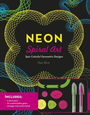 Neon Spiral Art - Spin Colorful Geometric Designs