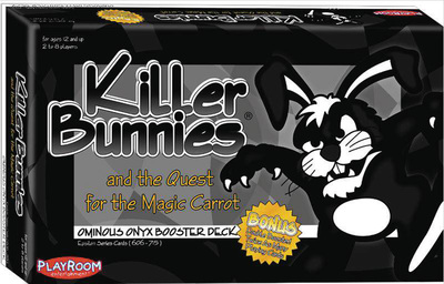 Killer Bunnies and the Quest for the Magic Carrot - Ominous Onyx Booster