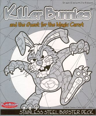 Killer Bunnies and the Quest for the Magic Carrot - Stainless Steel Booster