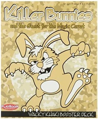 Killer Bunnies and the Quest for the Magic Carrot - Wacky Khaki Booster