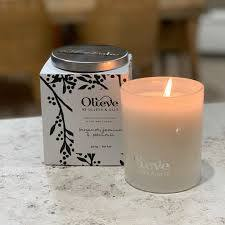 Olive Oil & Soy Wax Candle - Lemongrass & Rosewood 300g