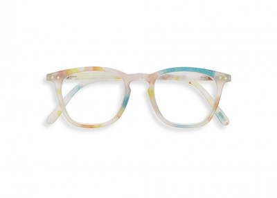 Izipizi #E Flash Lights Light Azure +1 Reading Glasses