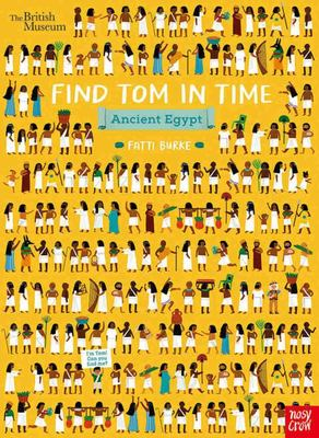Find Tom in Time, Ancient Egypt