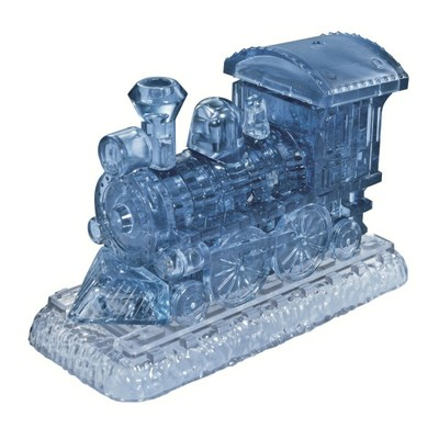 3D Crystal Puzzle - Steam Loco