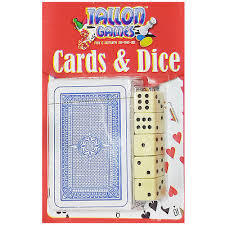 Cards & 5 Dice Hangsell