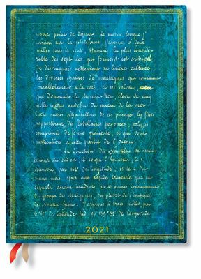Paperblanks Diary 2021 - Flexi - Verne 20,000 Leagues Ultra Day-at-a-time