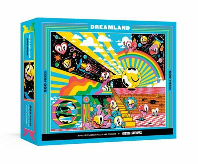 Dreamland - A 500-Piece Jigsaw Puzzle & Stickers