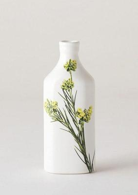 Botanical Bottle - Green Grevllia