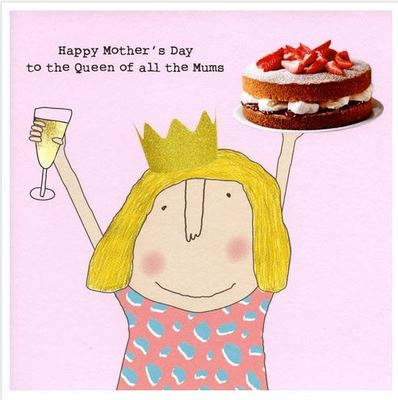 Card - Queen of Mums (Rosie Made a Thing)