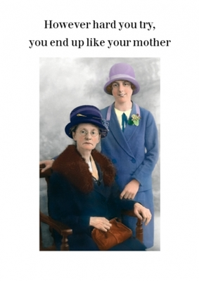 Card - Like your Mother (Cath Tate Cards)
