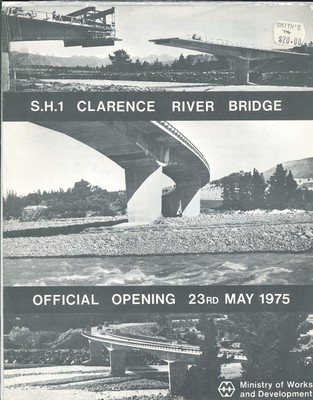 S.H.1 Clarence River Bridge Official Opening 23rd May 1975