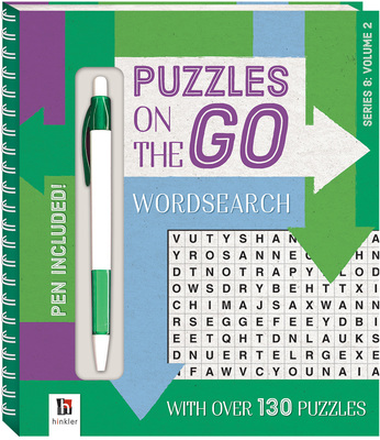 Puzzles on the Go Series 8: Wordsearch 2