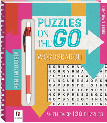 Puzzles on the Go Series 8: Wordsearch 1