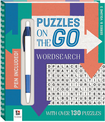 Puzzles on the Go Series 8: Wordsearch 3