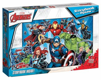 Avengers: Storybook and 100 Piece Jigsaw Set (Marvel)