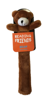 Bear Plush Bookmark (RF007) Reading Friends