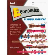 Level 1 Economics Learning Workbook