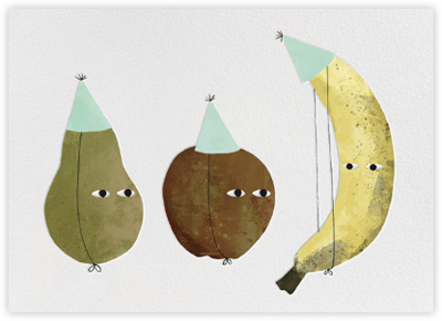 Card - Fruit Party