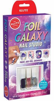 Foil Galaxy Nails